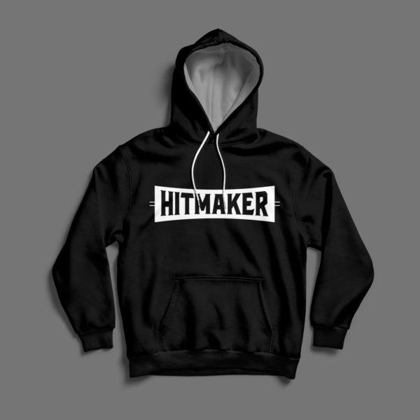 Hitmaker Black Hoodie